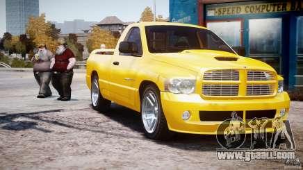 Dodge Ram SRT-10 2003 1.0 for GTA 4