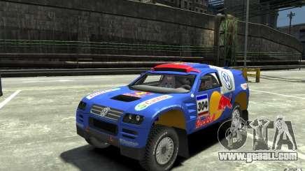Volkswagen Touareg Rally for GTA 4