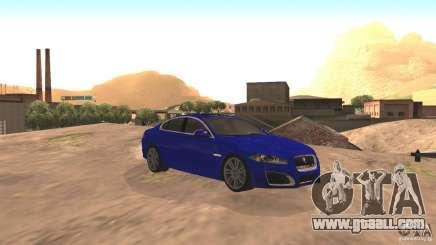 Jaguar XFR 2012 V1.0 for GTA San Andreas