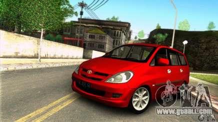 Toyota Kijang Innova 2.0 G for GTA San Andreas