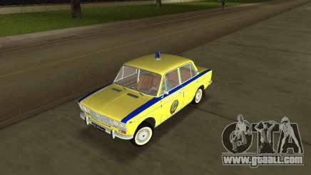 Vaz 2103 Police for GTA Vice City