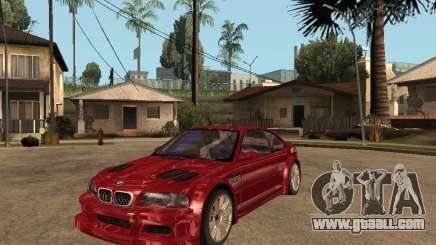 BMW M3 GTR Le Mans for GTA San Andreas