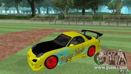 Mazda Rx7 for GTA San Andreas