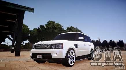 Range Rover Sport Supercharged v1.0 2010 for GTA 4