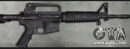 Colt M4A1 Commando Silenced for GTA San Andreas