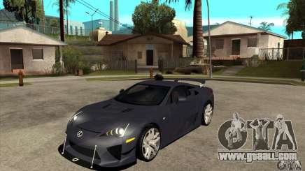Lexus LFA 2010 v2 for GTA San Andreas
