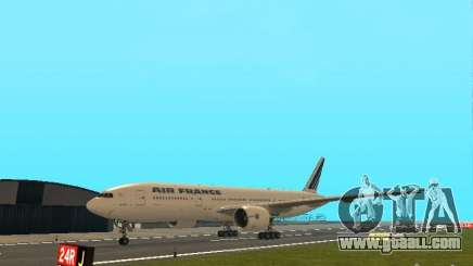Boeing 777-200 Air France for GTA San Andreas