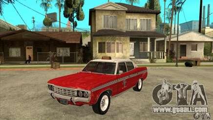 AMC Matador Taxi for GTA San Andreas