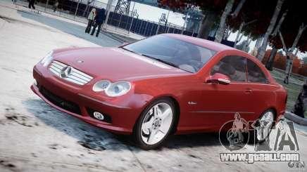 Mercedes-Benz CLK 63 AMG 2005 for GTA 4