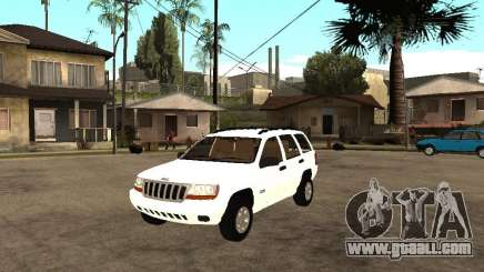 Jeep Grand Cherokee 99 for GTA San Andreas