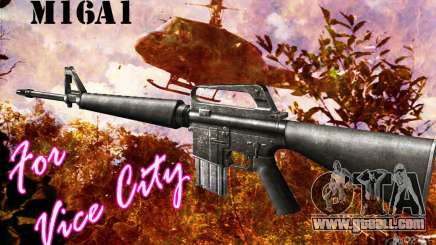 M16A1 for GTA Vice City