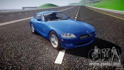 BMW Z4 Coupe v1.0 for GTA 4