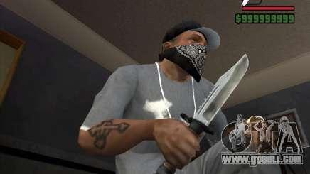 Gta San Andreas Knife 1 For Gta San Andreas