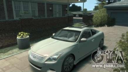 Infiniti G37 S for GTA 4