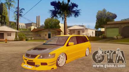 Mitsubishi Lancer Evolution IX Wagon MR Drift for GTA San Andreas