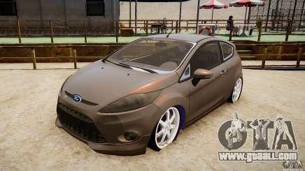 Ford Fiesta 2012 for GTA 4