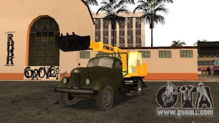 ZIL 157 GVC-32 for GTA San Andreas