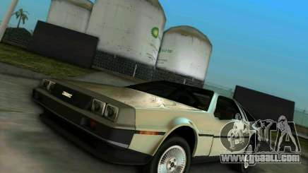 DeLorean DMC-12 V8 for GTA Vice City