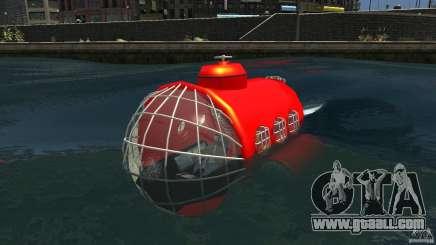 Submarine for GTA 4
