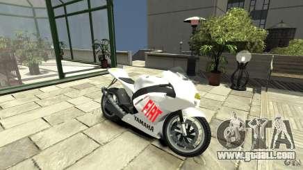 Yamaha YZR M1 MotoGP 2009 for GTA 4