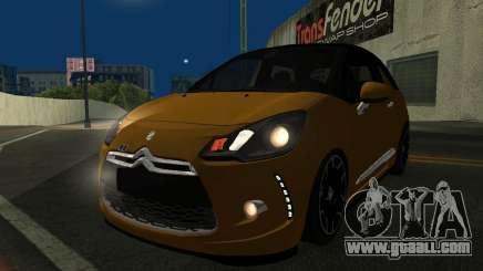 Citroen DS3 2011 for GTA San Andreas
