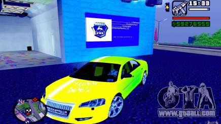 Volga Siber 2.5 AT Restailing for GTA San Andreas