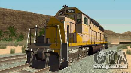 Clinchfield SD40 (Yellow & Grey) for GTA San Andreas