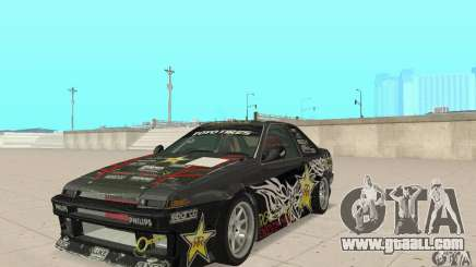Toyota AE86wrt Rockstar for GTA San Andreas