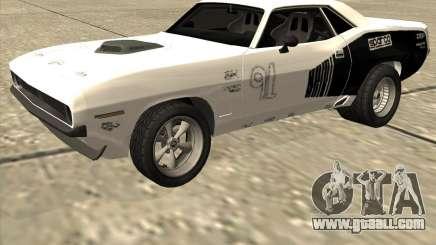 Plymouth Hemi Cuda Rogue for GTA San Andreas
