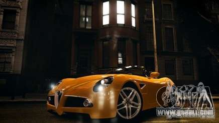 Alfa Romeo 8C Spyder for GTA 4
