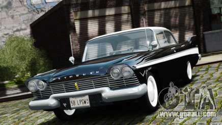 Plymouth Belvedere Sport Sedan 1957 for GTA 4