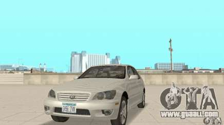 Lexus IS300 Stock for GTA San Andreas
