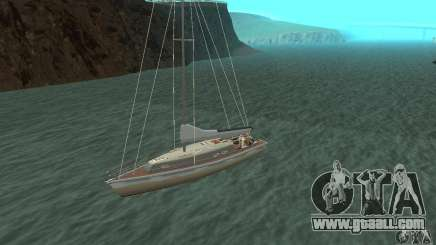 Marquis Segelyacht 09 Textures for GTA San Andreas