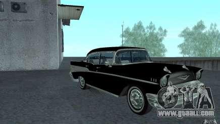Chevrolet BelAir 4 Door Sedan 1957 for GTA San Andreas