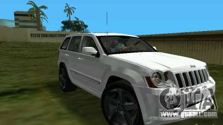Jeep Grand Cherokee SRT8 TT Black Revel for GTA Vice City