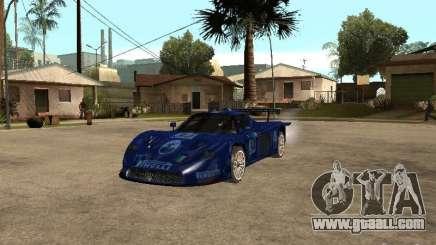 Maserati MC 12 GTrace for GTA San Andreas