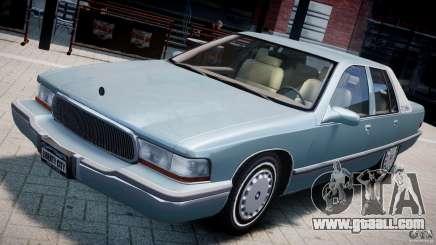 Buick Roadmaster Sedan 1996 v 2.0 for GTA 4