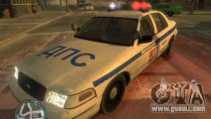 Ford Crown Victoria Police for GTA 4