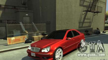 Mercedes-Benz C32 AMG Light Tuning for GTA 4