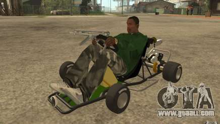 Hayabusa Kart for GTA San Andreas