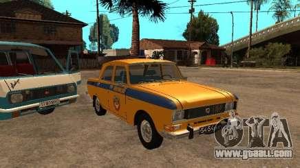 AZLK 2140 Militia early version for GTA San Andreas