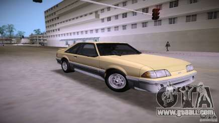 Ford Mustang GT 1993 for GTA Vice City