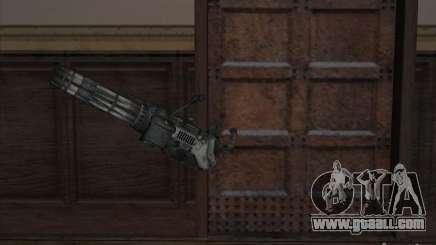 Minigun from Gears of War for GTA San Andreas