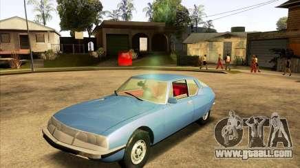 Citroen SM 1971 for GTA San Andreas