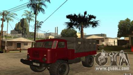GAZ 66 for GTA San Andreas