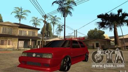 Volkswagen Golf 2 GTI Tuned for GTA San Andreas