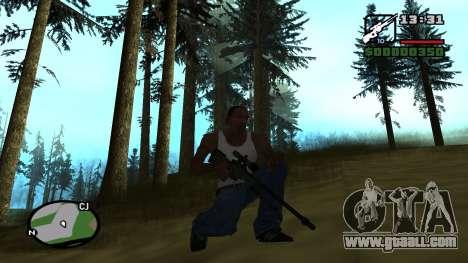 L96A1 for GTA San Andreas third screenshot