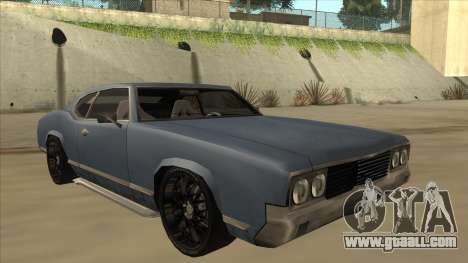 Tuned Sabre for GTA San Andreas left view