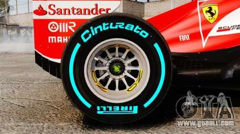 Ferrari F138 2013 v1 for GTA 4 inner view