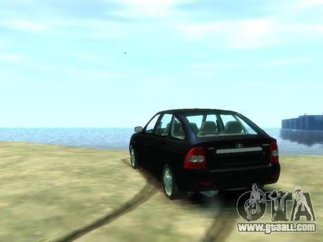 Lada Priora for GTA 4 back left view